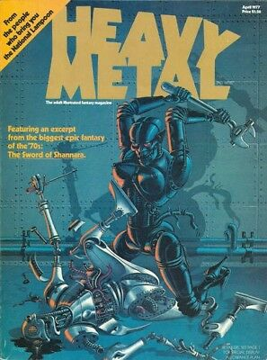 Us Comics Heavy Metal Digital Collection Of 200+ Magazines On Dvd