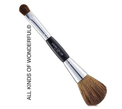 Laura Geller double-ended face and eye brush Un Boxed BN