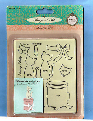 layered dies pampered pets poodle sizzix big shot machines etc. use in Xcut