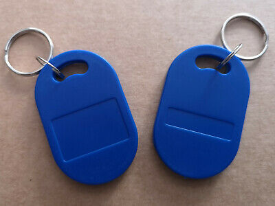 50 pieces T5577 Blue Keyfob