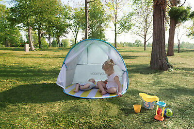 New Babymoov high protection Anti UV tent with pegs mosquito net and carry bag