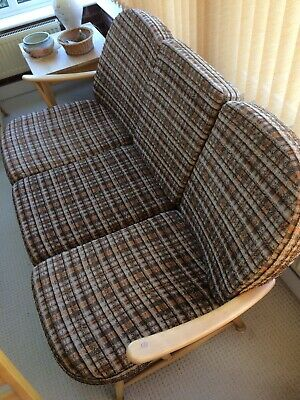 Ercol Vintage Windsor 3 Seater Sofa