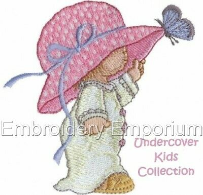 Undercover Kids Collection - Machine Embroidery Designs On Cd Or Usb