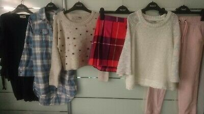 NEW 6x NEXT WINTER SUMMER BUNDLE OUTFITS GIRL JUMPERS JOGGERS 6-7 YRS 7-8 Y 8 N3