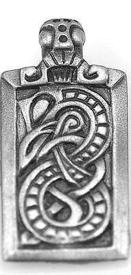 LOOK Celtic Ourobourus for Security and Long Term Goals Sterling Silver Charm Dr