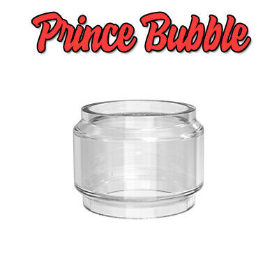 SMOK TFV12 PRINCE REPLACEMENT GLASS, Standard & Bulb, Bubble Fatboy Spare Tank