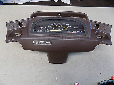 85 Yamaha Riva XC125 Complete Dash w/ Gauge Cluster Gauges Front Fairing Cover