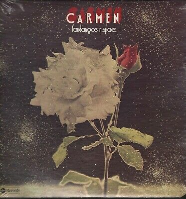 Carmen - Fandangos In Space - Still Sealed Lp New Old Store Stock Gatefold Cover