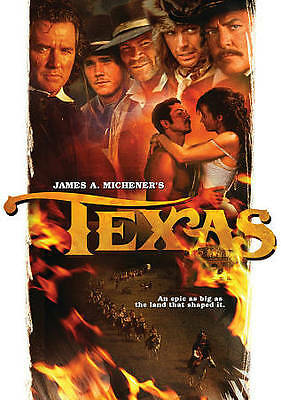 James A. Michener's Texas New DVD! Ships Fast!