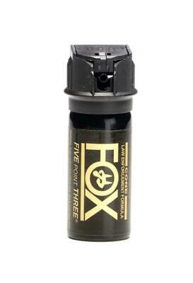 Fox Labs 5.3 Tactical Police 1.5oz Flip-Top Fog Pattern Defense Pepper Spray