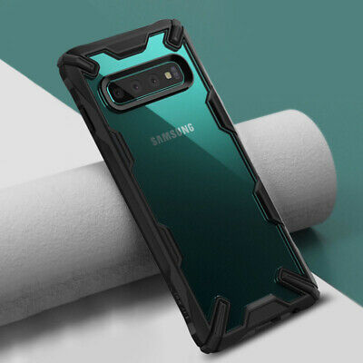 Fr Samsung Galaxy S10 Plus S10e S9 Hard Case Shockproof Armor Bumper Clear Cover
