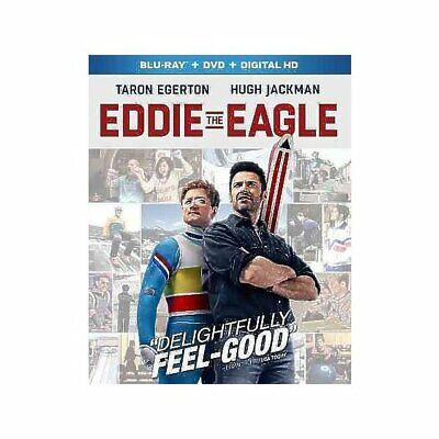Eddie The Eagle [Blu-ray],Excellent DVD, Hugh Jackman, Taron Egerton, Dexter Fle
