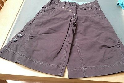 Boys New With Tag   Shorts Fat Face Dark Brown Size 6 Years