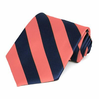 TieMart Raspberry and Bright Gold Striped Self-Tie Bow Tie