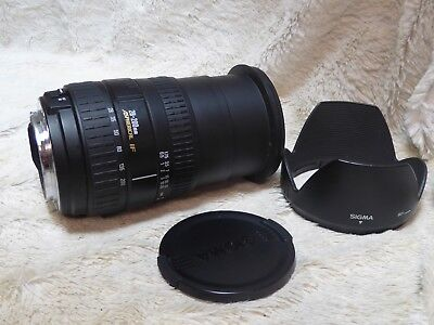 Sigma ZOOM DL Hyperzoom Macro 28-200mm 28-200 3.5-5.6 mm canon ef fit