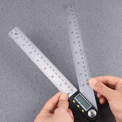 1pc Digital Multifunctional Practical Stainless Steel Goniometer for Measuring