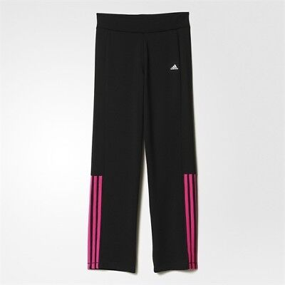 Adidas  Baby Infants Girls Tracksuit Bottoms Trackie Pants Black BNWT 2-3 Years