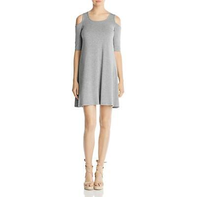 c826280f6889d CUPIO WOMENS COLD Shoulder Knee-Length Night to Day Casual Dress ...