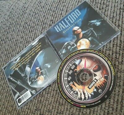 Halford - Resurrection CD 2000 METAL IS SANCTUARY JUDAS PRIEST ORIGINAL PRINTING