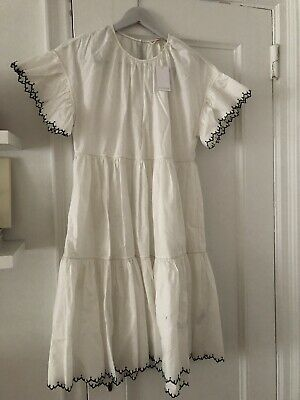 1e52714473b NWT Ulla Johnson Rosemarie Size 4 Cotton Dress