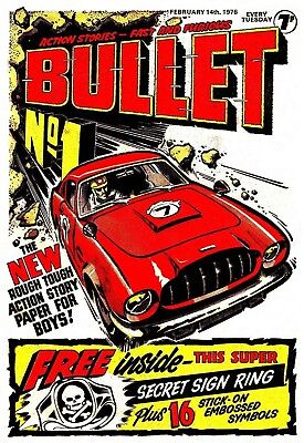 Uk Comics Bullet Complete Digital Boys' Comics Collection On Dvd