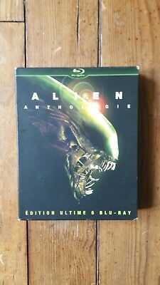 Blu-Ray - Coffret Alien Anthologie / Edition Ultime - MULTI/TRUEVF