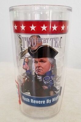 Rush Limbaugh Anchorman by Day Rush Revere by Night 16 oz Tervis Tumbler(2ifbyT)