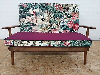 Vintage Ercol 2 Seater Sofa reupholstered