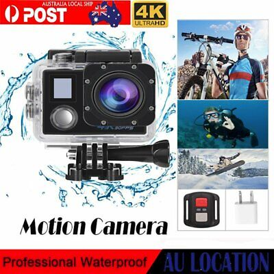 Campark Ultra HD 4K/30fps WIFI Sports Action Camera DVR Cam/Remote Control GIFT