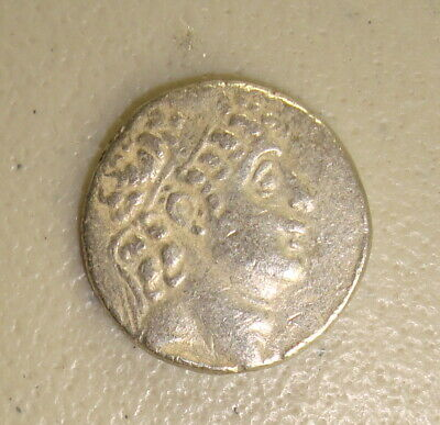 95-75 BC Philip I Seleucid Kingdom Ancient Greek Silver Tetradrachm F
