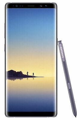 New Sealed Samsung Galaxy Note8 SM-N950U 64GB 4G Orchid Gray AT&T 2-Day Shipping