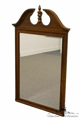 CRESENT Solid Cherry Pediment Top 23x52 Dresser / Wall Mirror