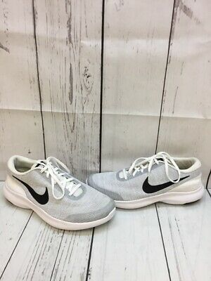 09a0a533ea19 Nike FLEX EXPERIENCE RN 7 White Textile Low Top Running Shoes Men s Size  10.5 W