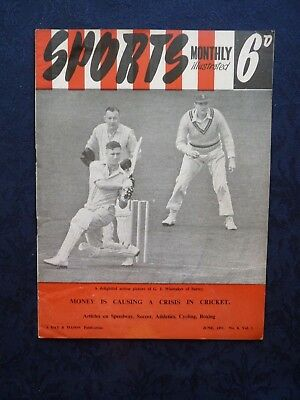 Sports Magazine 1951 Cricket Crisis Newport County FC Speedway Boxing Wrestling