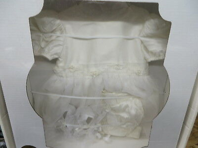 christening gown baptism outfit - heirloomed and sealed -  hermetically sealed -