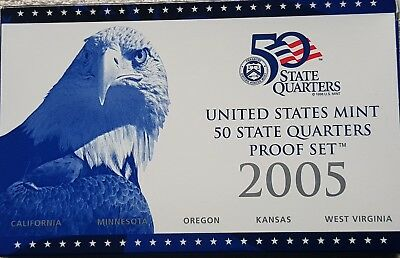 US 50 State Quarters Dollar Proof Deep Cameo Sets 1999-2009 Choose Yours
