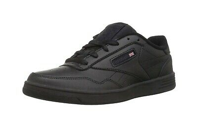 Reebok Men's Club MEMT 4E Extra Wide Classic Shoes V68166 - Black/Gray