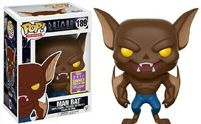 MAN BAT In SDCC 2017 Funko Pop Summer CONVENTION Exclusive 189 NIB Never Removed