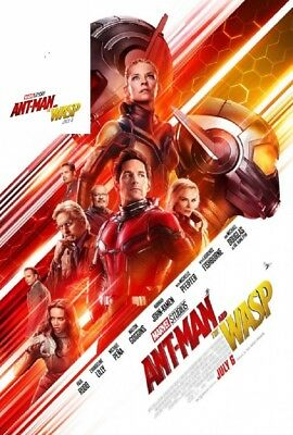 MARVEL AVENGERS ENDGAME ANT MAN & WASP Original DS IMAX Poster SET LOT 27x40 +3x