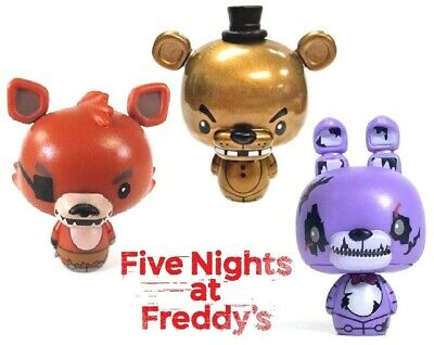 Metallic GOLD FREDDY Nightmare Bonnie FOXY Funko Pint Size Five Nights PSH FNAF