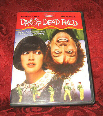 DROP DEAD FRED (DVD, U.S. RELEASE) complete w/insert VG Condition - Adult owned