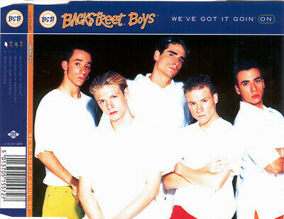 Backstreet Boys We've Got It Goin' On 1996