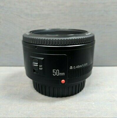 Yongnuo EF YN 50mm f/1.8 MF Lens for Canon - manual focus only
