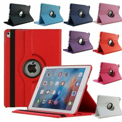 360 Rotate Leather Case Cover For Apple iPad 2 3 4 5 6 Air 1 2 Mini Pro New 9.7