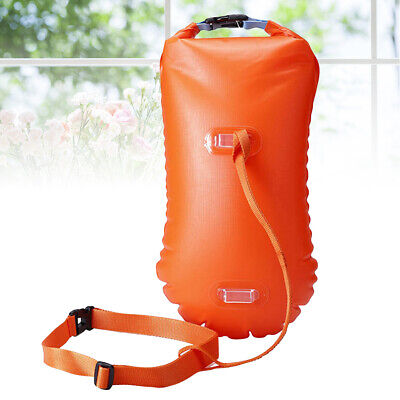 1 PC Open Water Swim Buoy Light Safety Ultralight Dry Bag for Surfers Snorkelers