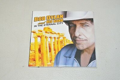 bob dylan :  live ROME ITALY 2011  ( double 2 CD) digipack