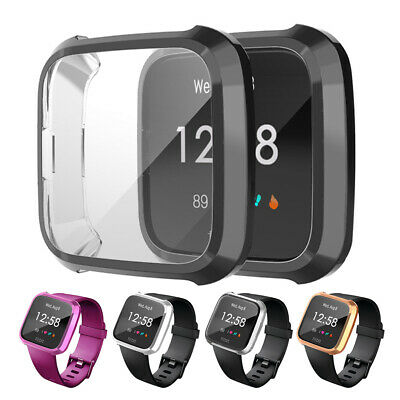 Durable Frame Guard Screen Protector Smartwatch Cover for Fitbit Versa Lite Conv