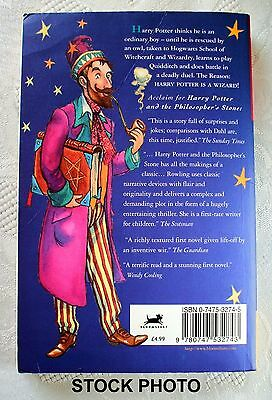 HARRY POTTER and the PHILOSOPHER'S STONE UK, First Edition PB Original Book