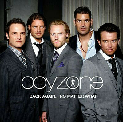 Boyzone Back Again... No Matter What -  Greatest Hits 2008