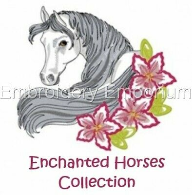 Enchanted Horses Collection - Machine Embroidery Designs On Cd Or Usb